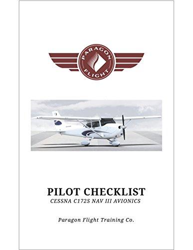 Pilot Checklist, Cessna Skyhawk C172 SP: NAV III Garmin G1000 Avionics (English Edition)