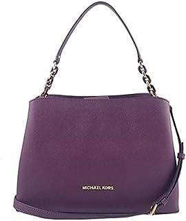 Michael Kors 35F8GO5S7L SOFIa Portia Large EW Saffiano Leather Satchel Bag -DaMSON