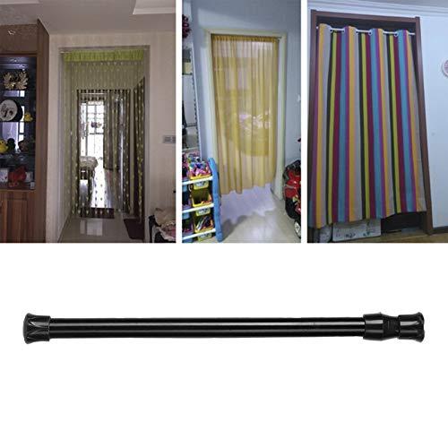 Poste de cortina, riel de cortina telescópico, portabotellas, despensa para zapatero, barra de cortina opaca(30-50 diameter 1.3cm thin rod)