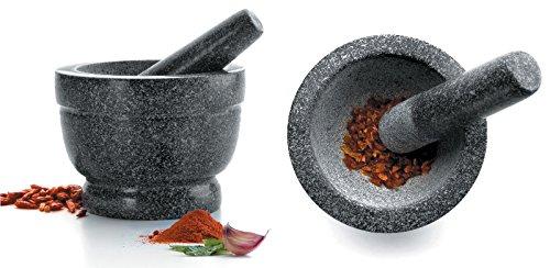 Mörser & Stößel aus Granit Ø 16 cm