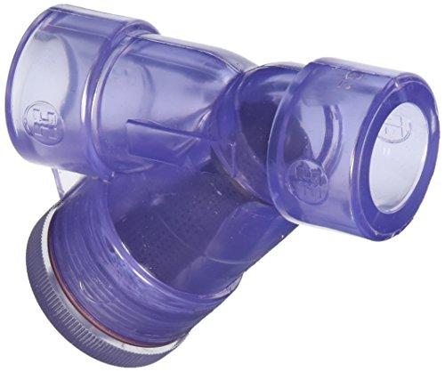 Hayward Ys00075s Douille 3/10,2 cm en PVC Transparent Y-Strainer avec FPM Joints torique