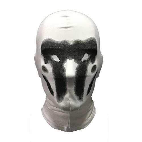 MAyouth Watchman Kopfbedeckung-Gesichtsmaske Cosplay Digital Print Neuheit Baumwolle Kopfbedeckung