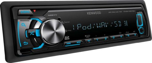 Kenwood KMM-357SD Digital Media-Receiver mit Apple iPod/iPhone Steuerung (SD-Kartenslot, USB 2.0)