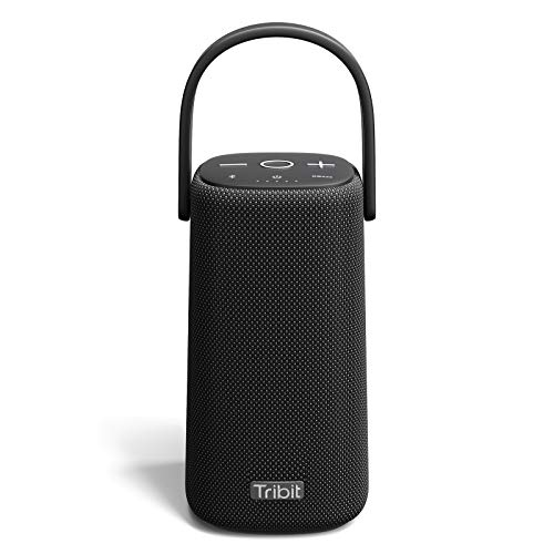 Tribit StormBox Pro Portable Bluetooth Speaker with High Fidelity 360° Sound Quality, 3 Drivers with 2 Passive Radiators, Exceptional Built-in XBass, 24H Battery Life, IP67 Waterproof for Outdoors