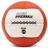 Champion Sports RPX6 Rhino Promax Slam Balls, 6 lb, Soft Shell with Non-Slip Grip, Exercise Ball Set...