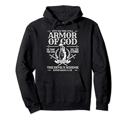 Armor of God Men Bibel Zitat Krieger von Gott Christian Pullover Hoodie