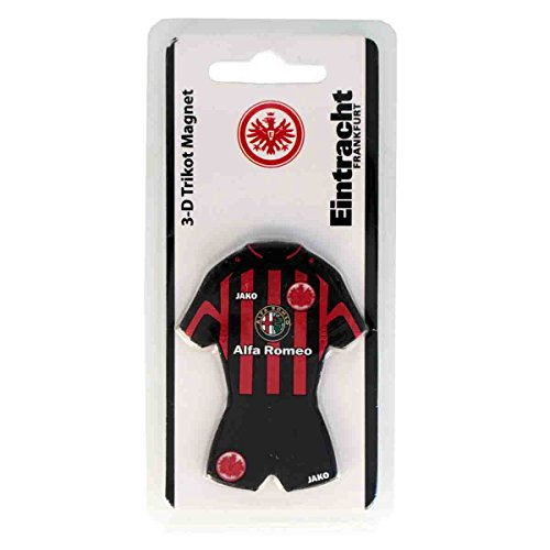 Diverse Eintracht Frankfurt 3D Magnet Trikot [rot/schwarz]