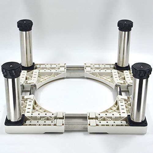 Waschmaschine Untergestell Sockel, Universal-Basis Mit 4-12 Verstellbare Stützbeine Für Trockner, Waschmaschine Und Kühlschrank(Höhe: 23-27Cm),A