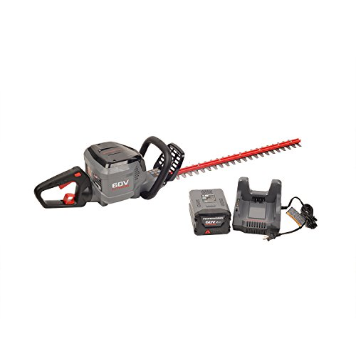 Read About POWERWORKS 60V 24-inch Brushed Hedge Trimmer, 2Ah Battery and Charger Included HT60B211PW