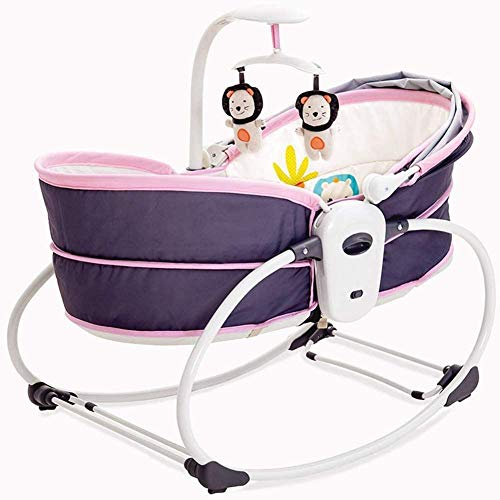 Draagbare elektrische babybed Trilling Wieg Bed Schommelstoel Automatische comfortstoel Shaker Kan zitten Stoel Liftmand Wieg