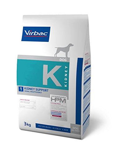 Virbac Veterinary HPM Dog Kidney Hundefutter, 3 kg, Größe S