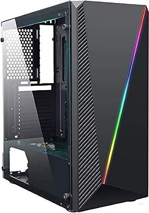 JOYBE - Ordenador Gaming SOBREMESA JOYBE Cylon AM4 3000G SSD 240GB 8GB DDR4 Grafica Radeon Vega 3 Windows 10 Pro Juegos