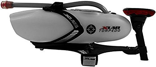Xlab Torpedo Versa 200 Botella de Agua, Rojo, Talla Única