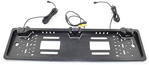 No-Branded EU Europe Car License Plate Frame Very popular! Special price for a limited time View 17 Camera Rear