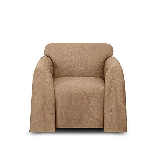 Stylemaster Alexandria Furniture Throw, Chair, Mocha