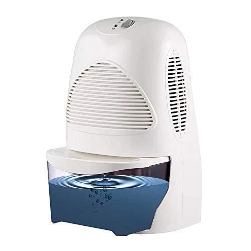 Wghz 60W Mini deshumidificador casero Ultra silencioso Mini secador de Aire, deshumidificador doméstico Dispositivo de Limpieza portátil Secador de Aire Absorbente de Humedad