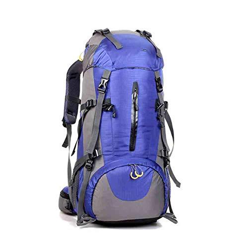 JTWMY Sac à Dos de Randonnée, Grand Sac à Dos 50L pour Hommes Femmes, Résistant Aux Déchirures et à l'eau pour Le Camping Trekking Travel Outdoor