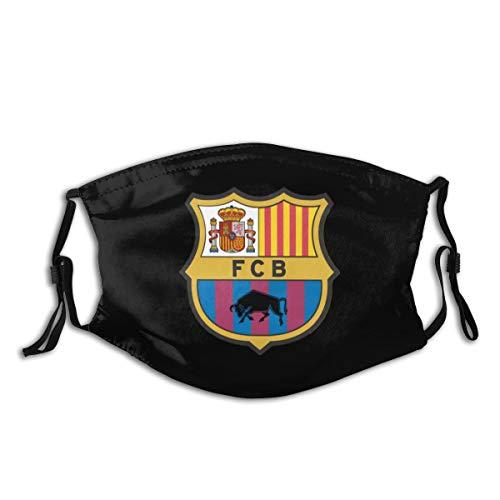 MEIDUOSI Barcelona_ 副本 Schwarze Staubschutz, Wiederverwendbare und waschbare zum Laufen, Radfahren, Skifahren, Outdoor-Aktivitäten