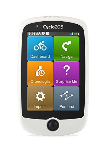 Mio Cyclo Western Europe Bike Computer - Dispositivo di Navigazione per Biciclette, Mappe Europa Occidentale Preinstallate