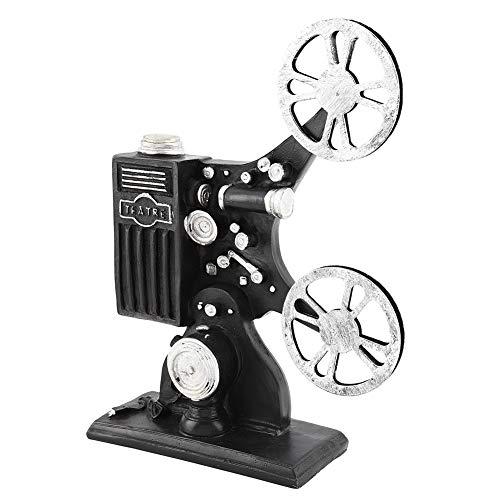 Proiettore cinematografico Modello Proiettore cinematografico in resina vintage Modello Figurine Figure Props Home Decor