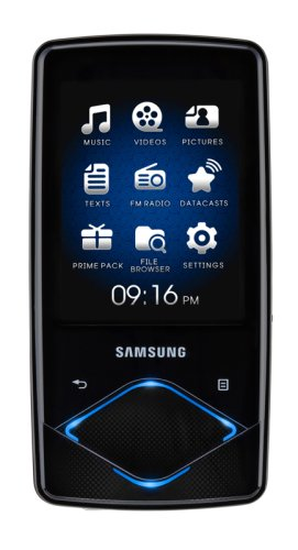 Samsung YP Q 1 JCB MP3-/Video-Player 8 GB schwarz