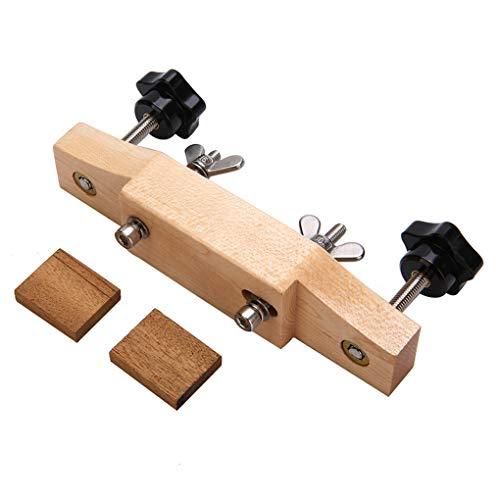 Chowceng Durable Massivholz-Akustikgitarren Brücke Clamp mit Dichtung DIY Gitarren Reparatur Wartung