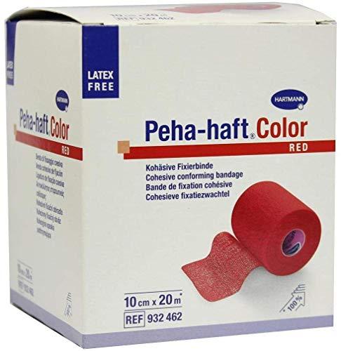 PEHA-HAFT Color Fixierbinde latexf.10 cmx20 m rot 1 St