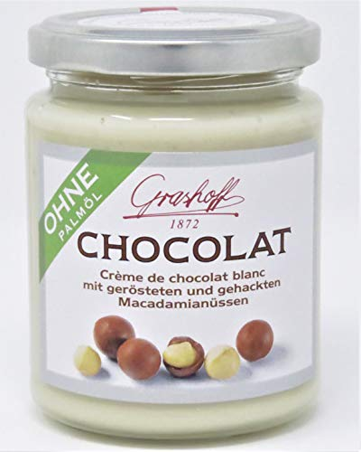 Grashoff Weiße Schokocreme mit Macadamia -