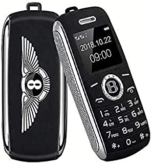 MINI MOBILE PHONE, SMALLEST MOBILE PHONE, FANCY MOBILE PHONE, BENTLEY CAR KEY DESIGN, BLUETOOTH PHONE (RED)