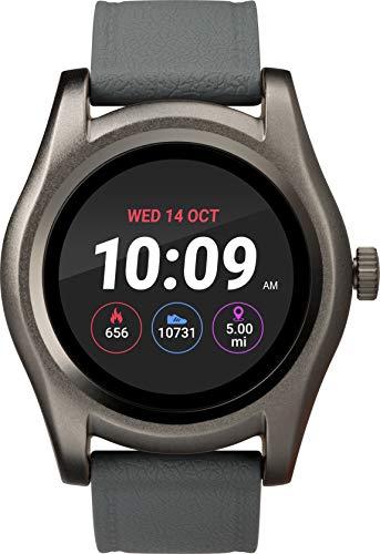 Timex Unisex-Erwachsene Digital Smartwatch Uhr mit Harz Armband TW5M31600