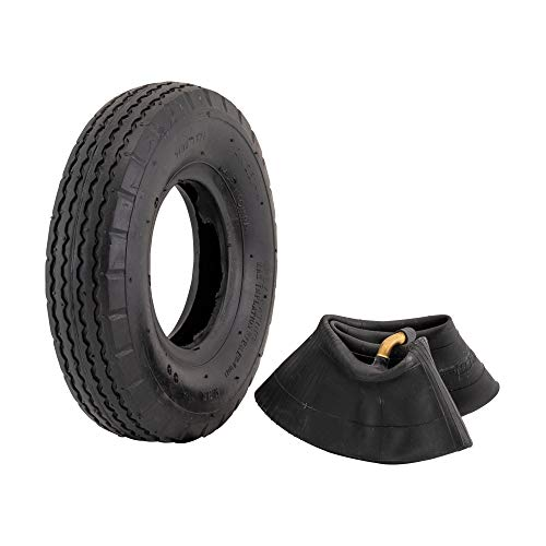 Marathon 2.80/2.50-4' Pneumatic (Air Filled) Hand Truck / Utility Cart Tire and Inner Tube
