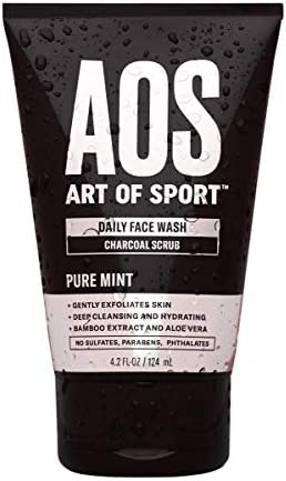 Art of Sport Daily Face Wash Charcoal Face Scrub Exfoliating Face Wash for Men with Natural product image