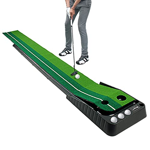 Asgens Golf Putting Green Mat wi...