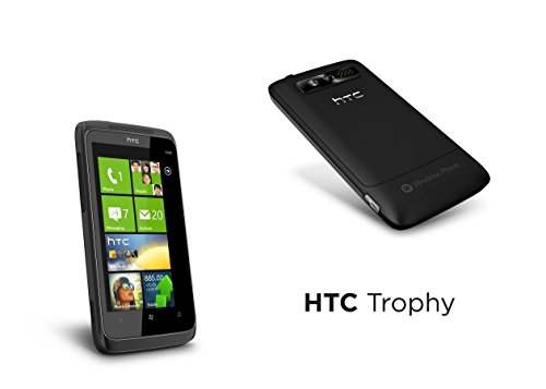 "HTC TROPHY MWP6985 3.8"" Verizon Windows 7 Bluetooth 5MP Camera Cell Phone"