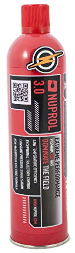 First and Only Airsoft Source d'alimentation et Mise à Niveau de Red Gas 3.0 et Patch par Nuprol, 1000 ML
