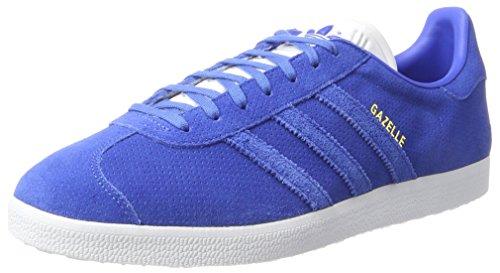adidas Gazelle, Zapatillas de Deporte Hombre, Azul (Blue/Blue/Gold Metallic), 42 2/3 EU