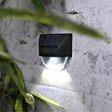 HEGSB LED energía Solar Pared luz al Aire Libre Impermeable...