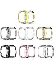 7- Stuk Smart Watch case met Strass Inlaid case voor Fitbit Versa 3/ Sense