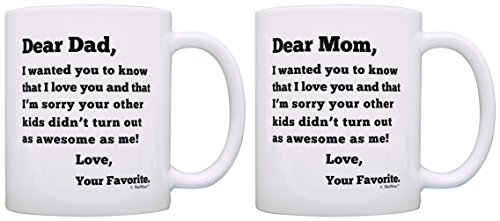 Anniversary Gag Gifts for Parents Dear Dad and Dear Mom Sorry Your...