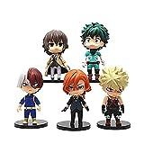 YYDS 3.15-Inch My Hero Academia Figuras Anime Baratas Gormitis Juguetes Regalos Manga Anime-My Hero Academia B