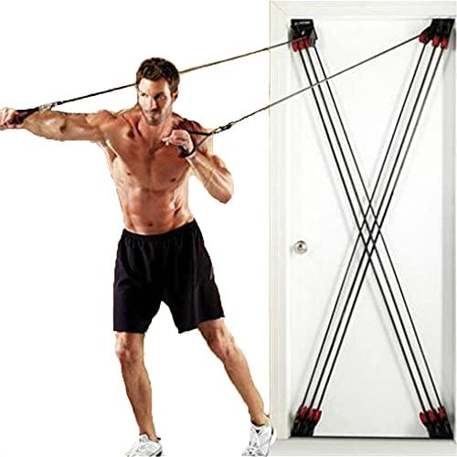 Cinturón entrenamiento cuerda cuerda resistencia aptitud, la cuerda tirón tipo X, las...