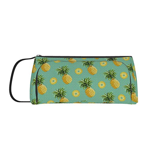 Colla Pineapple Pencil Case for Boys Girls Adults Large Capacity Pen Pouch, Portable Stationary Organizer for School Supplies Office College