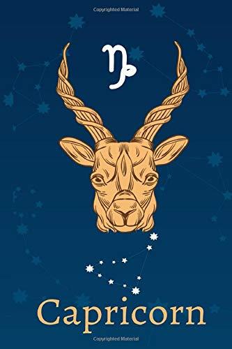 Capricorn: Zodiac Astrology Design Journal 6x9 (Astrology Notebook & Zodiac Gifts)