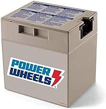 Power Wheels 12-Volt Rechargeable Replacement Battery, Multicolor