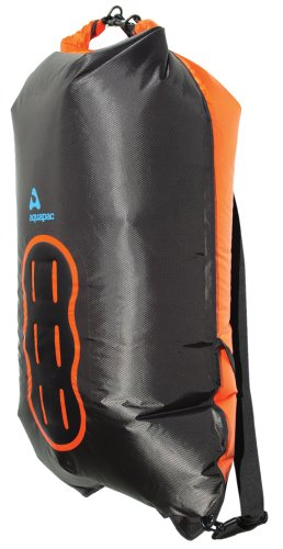Aquapac 755 Noatak Wet & Dryback Bolsa estanca Negro/Naranja 35 L
