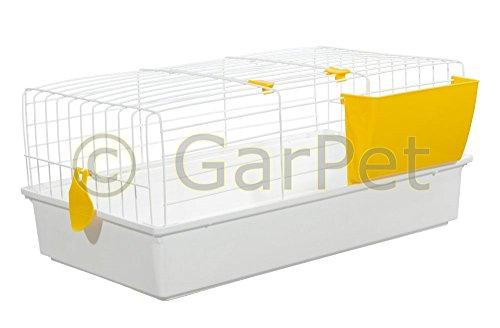 Kaninchenkäfig Hasenkäfig Meerschweinchen Hasen Kaninchen Käfig Stall 70 - 2