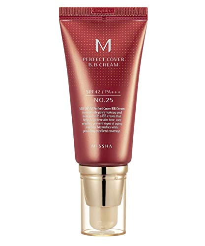 New MISSHA M Perfect Cover BB Cream No.25 Warm Beige 20ml