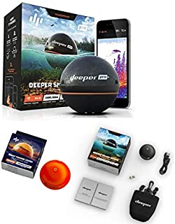 Deeper Smart Sonar Pro + Set WiFi + GPS + Night Fishing Cover
