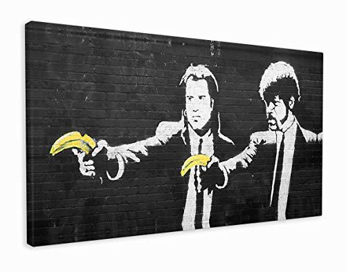 M2M Prints Banksy Pulp Fiction stampa (100 x 50 cm)