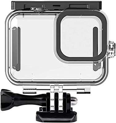 Ouxunus Waterproof Housing Case for GoPro Hero 9 Black(2020), 164FT/50M Waterproof Case Diving Protective Housing Shell for GoPro Action Camera Underwater Dive Case Shell with Mount & Thumbscrew from ABBB